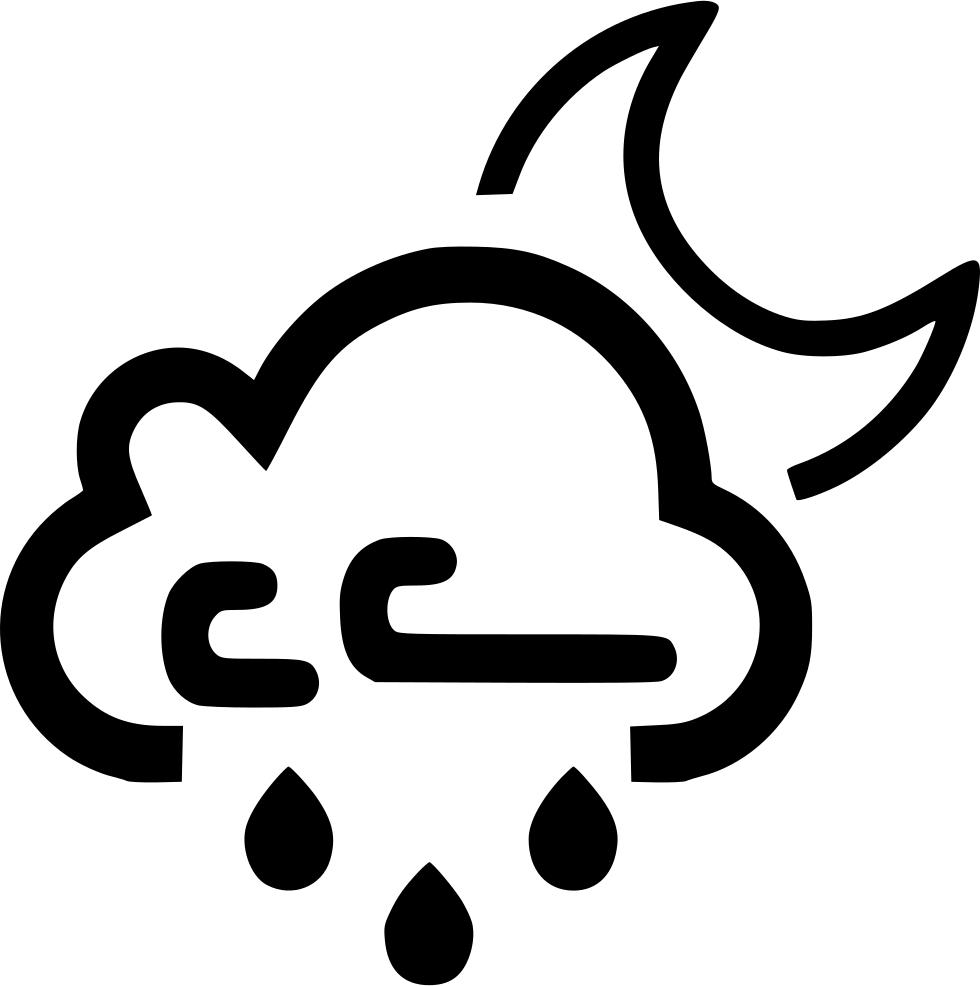 Windy clipart rainy. Cloud wind rain raining