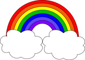 Free clip art pictures. Clipart rainbow