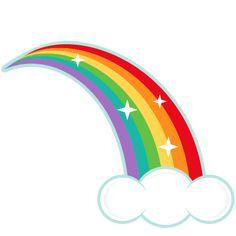Clipart rainbow. Free public domain clip