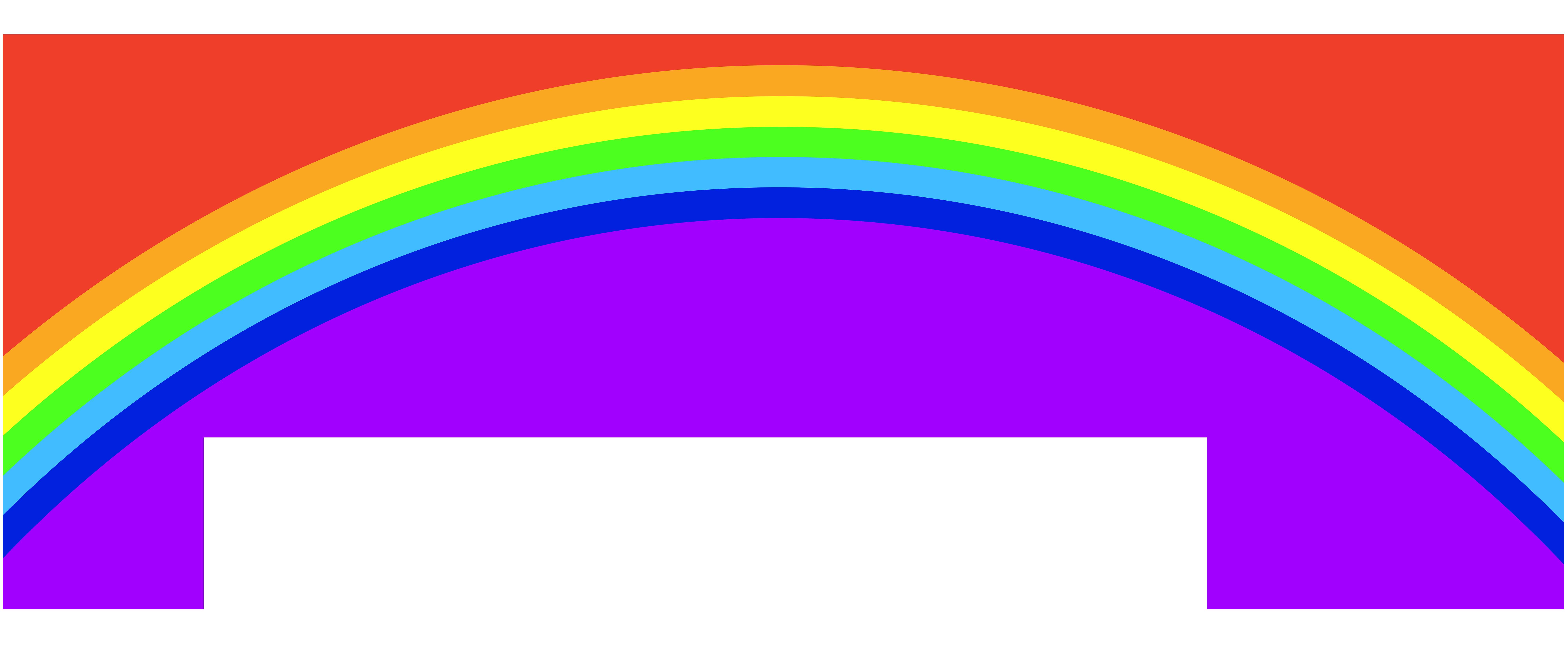 Clipart road circle. Rainbow clip art png