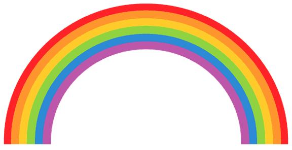 Clip art panda free. Clipart rainbow