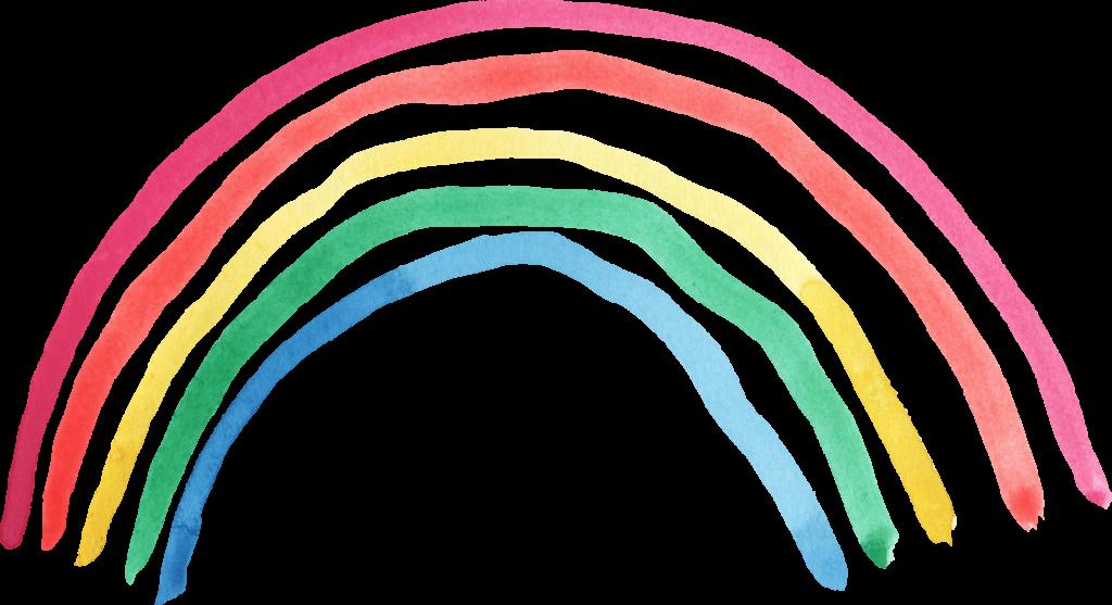 watercolor png transparent. Clipart rainbow brush stroke