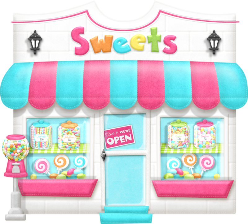 Clipart rainbow candy. Sweets cute pencil and