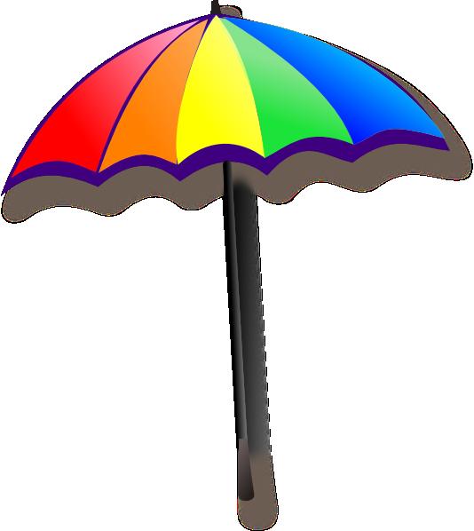 Rainbow clip art at. Clipart umbrella small umbrella