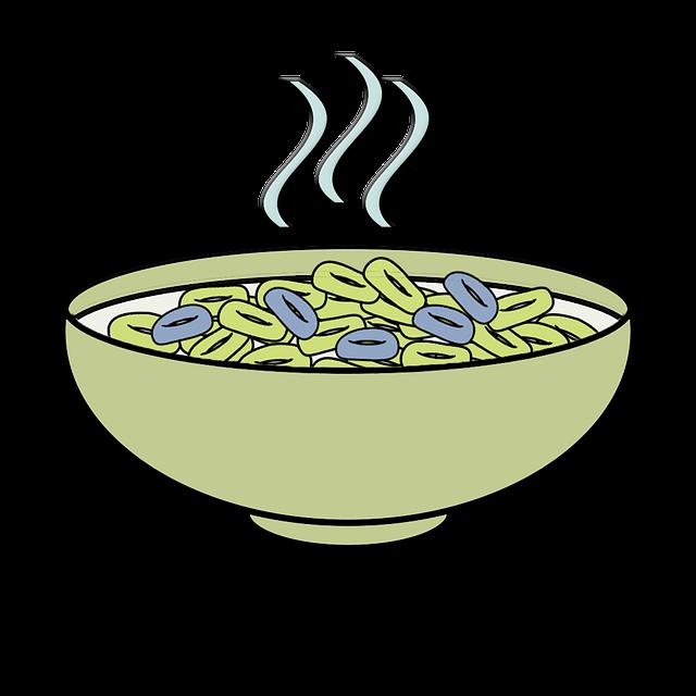 Soup clipart bowl cereal. Free photo porridge diet