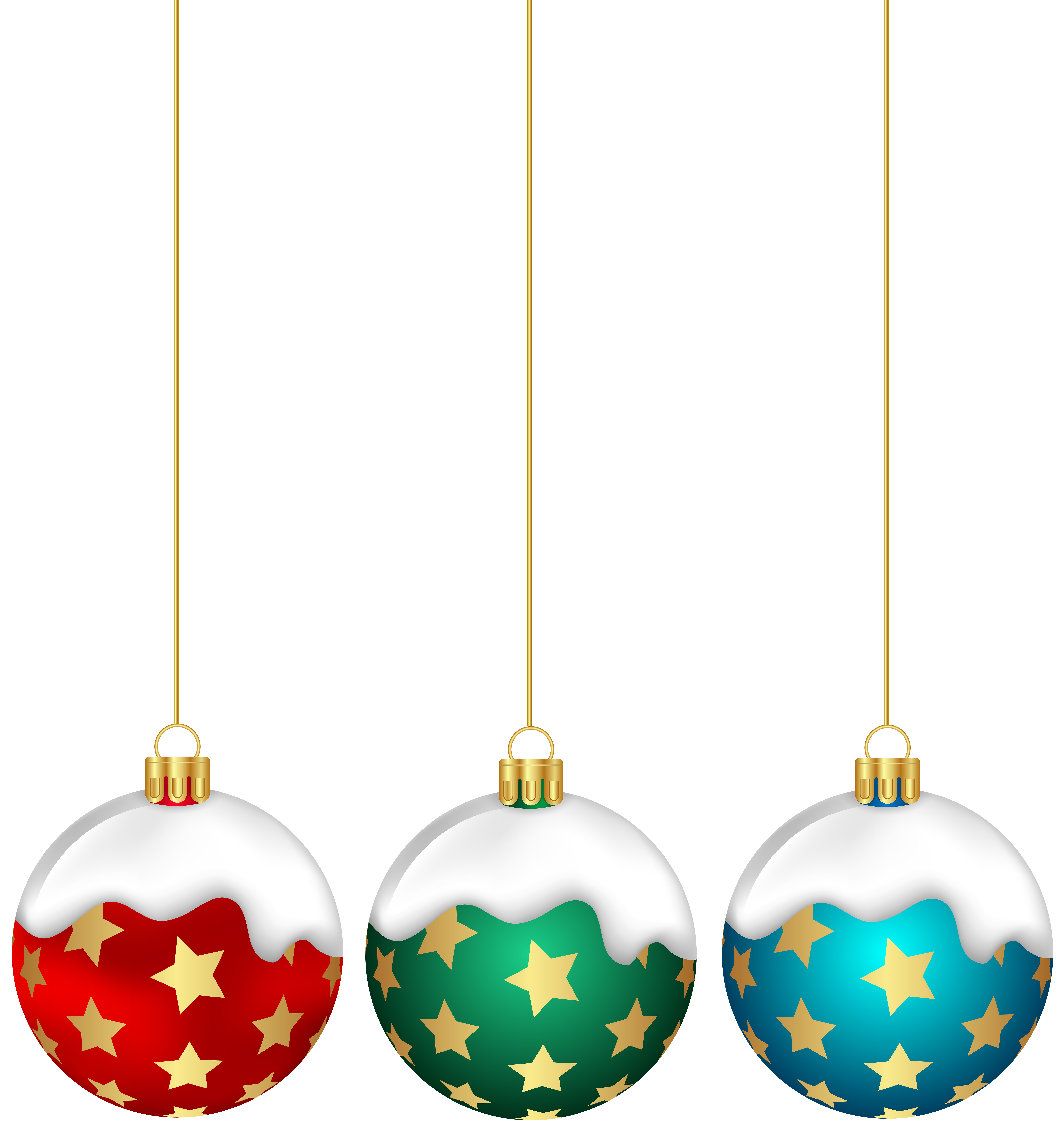 Christmas balls with png. Clipart stars ball