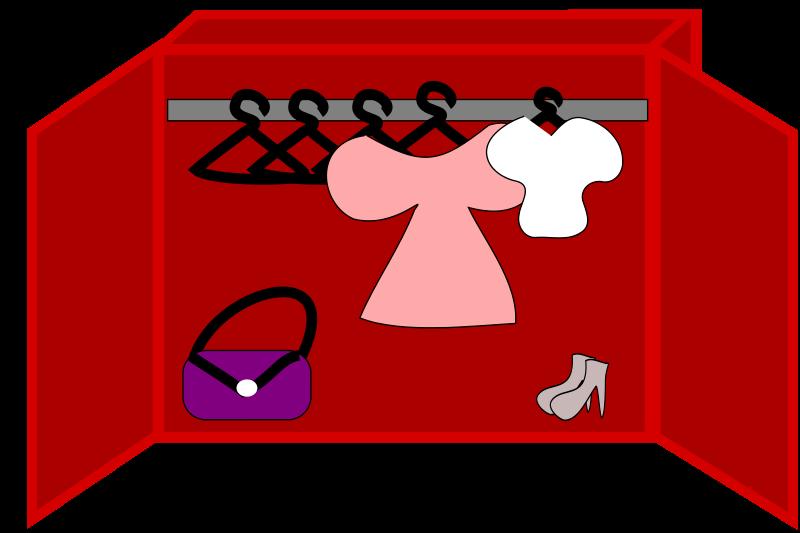 House clipart clothes. Closet panda free images