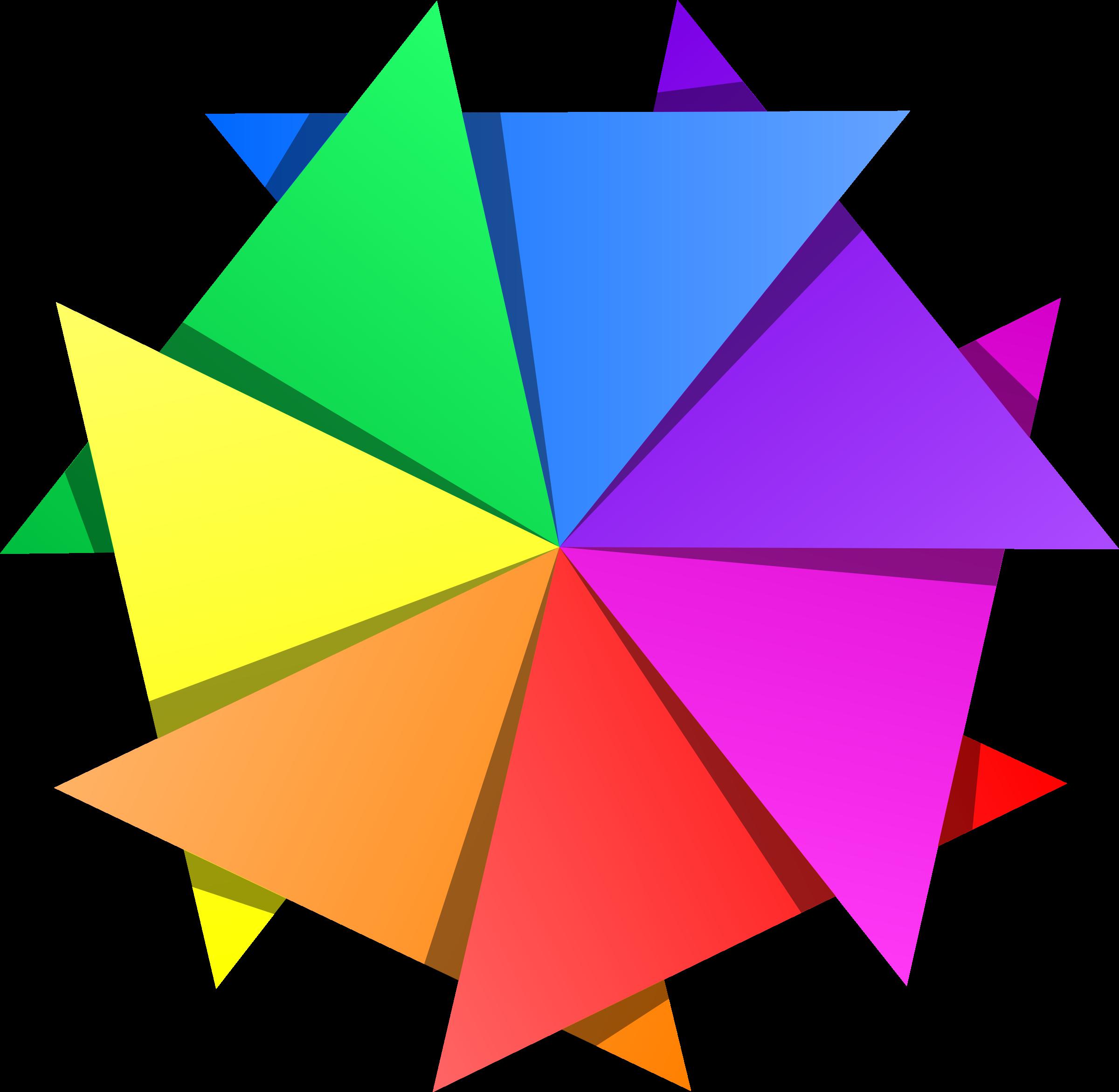 Colors clipart design. Color star big image