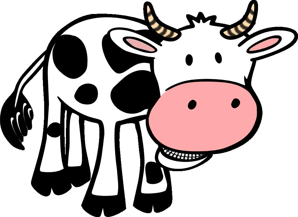 Clipartist net black white. Clipart rainbow cow