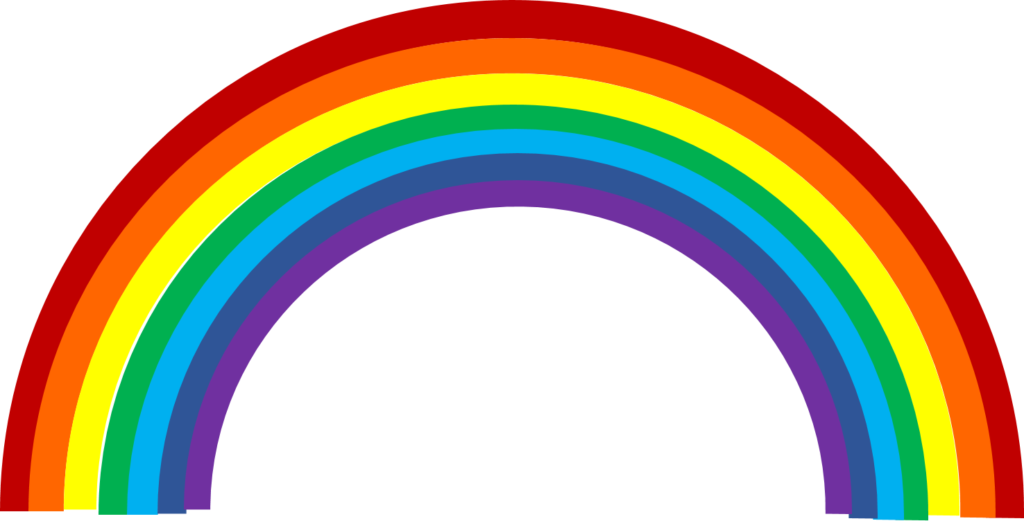 Clipart rainbow cute.  collection of high
