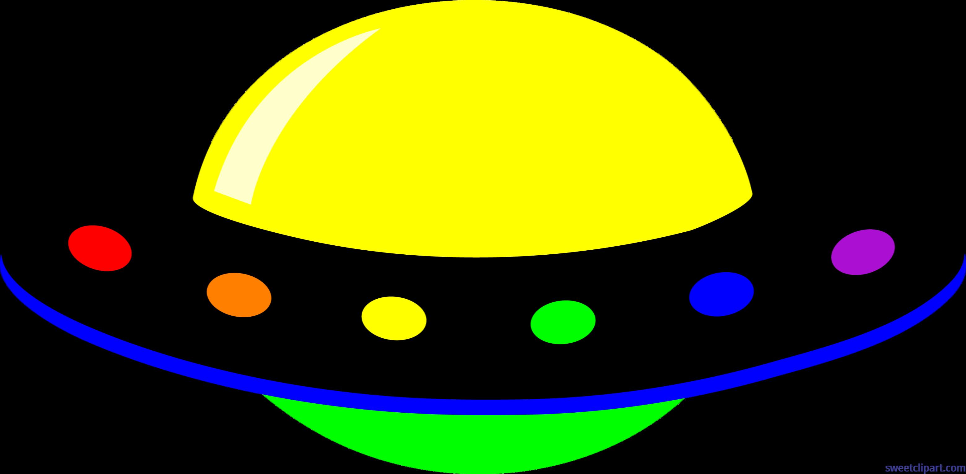 Ufo neon clip art. Clipart rainbow cute