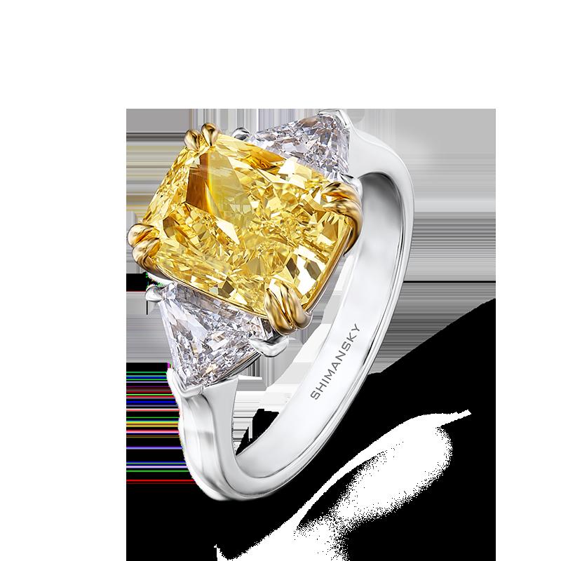 Shimansky yellow rings designs. Clipart rainbow diamond