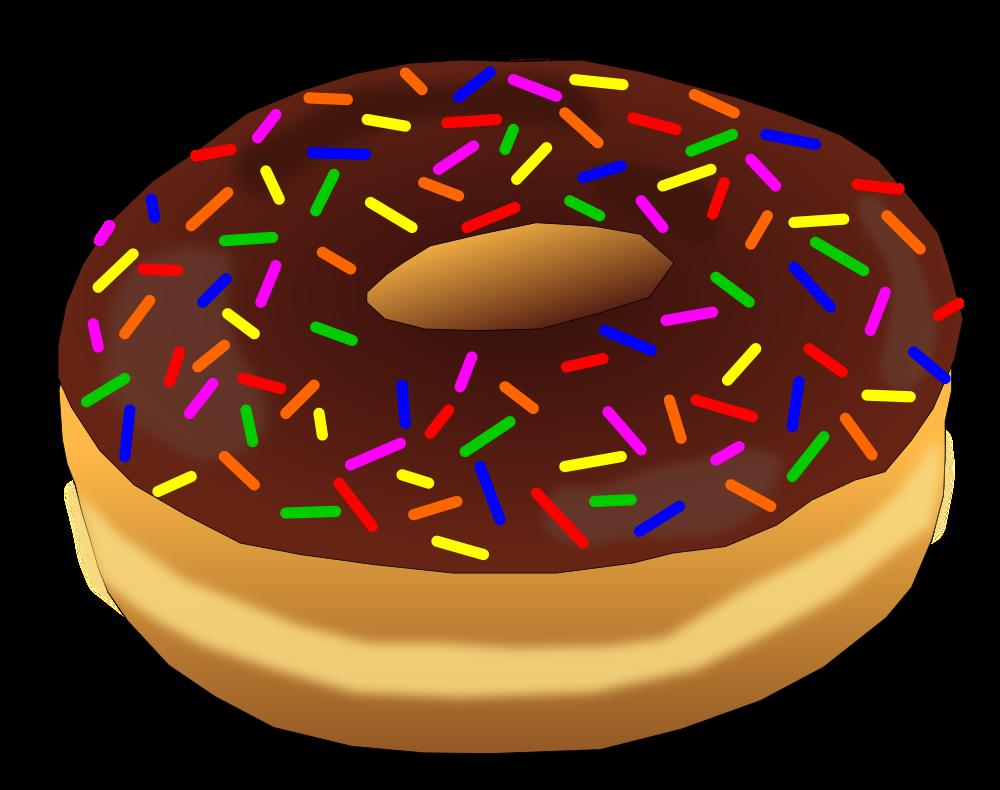 Onlinelabels clip art rainbow. Donut clipart half donut