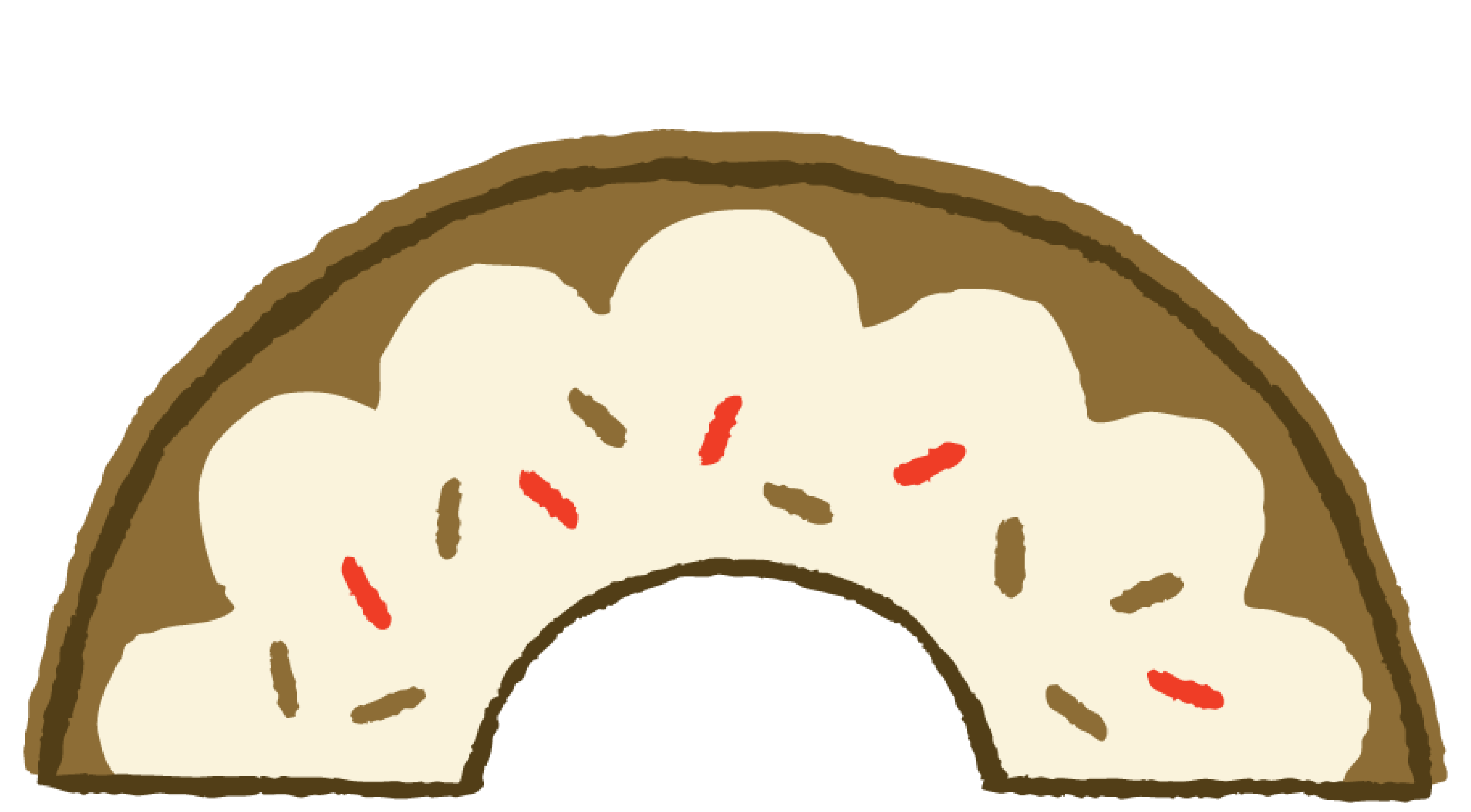 Menu friend first choose. Strawberries clipart frosted donut