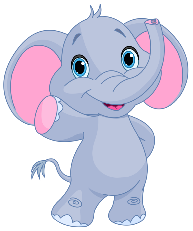 Clipart swimming elephant. Free images black and