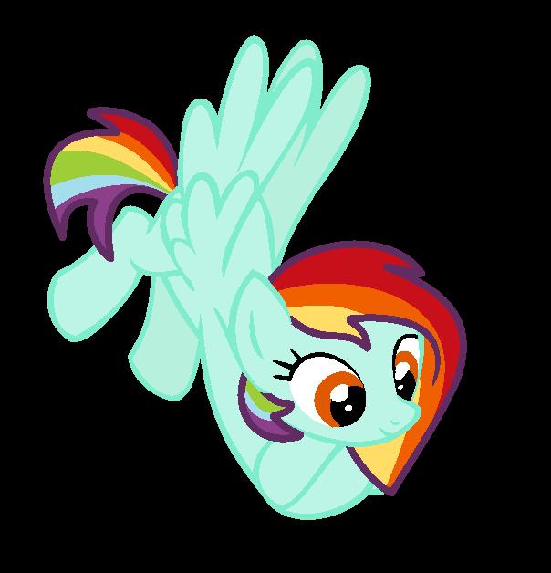 Clipart rainbow feather. Oc pony by maryponyartist