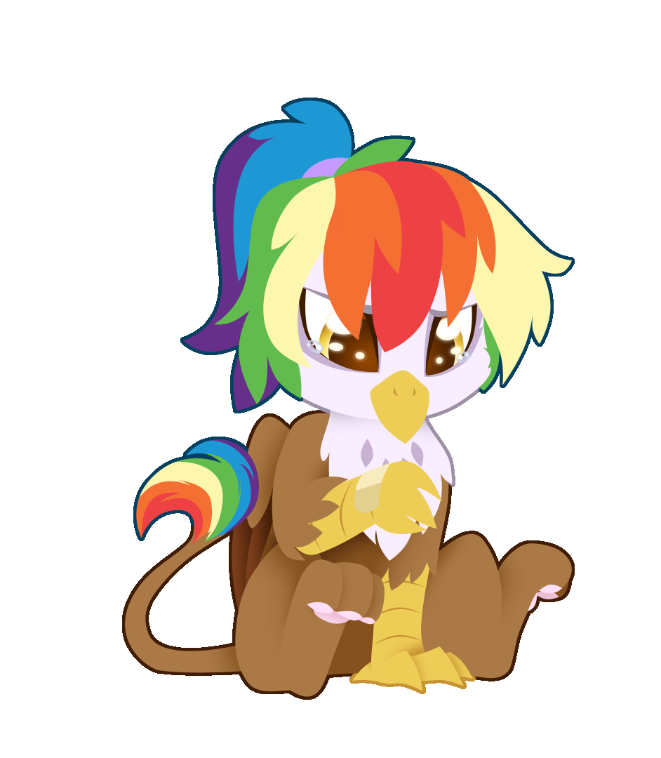 It s probably ponies. Clipart rainbow feather