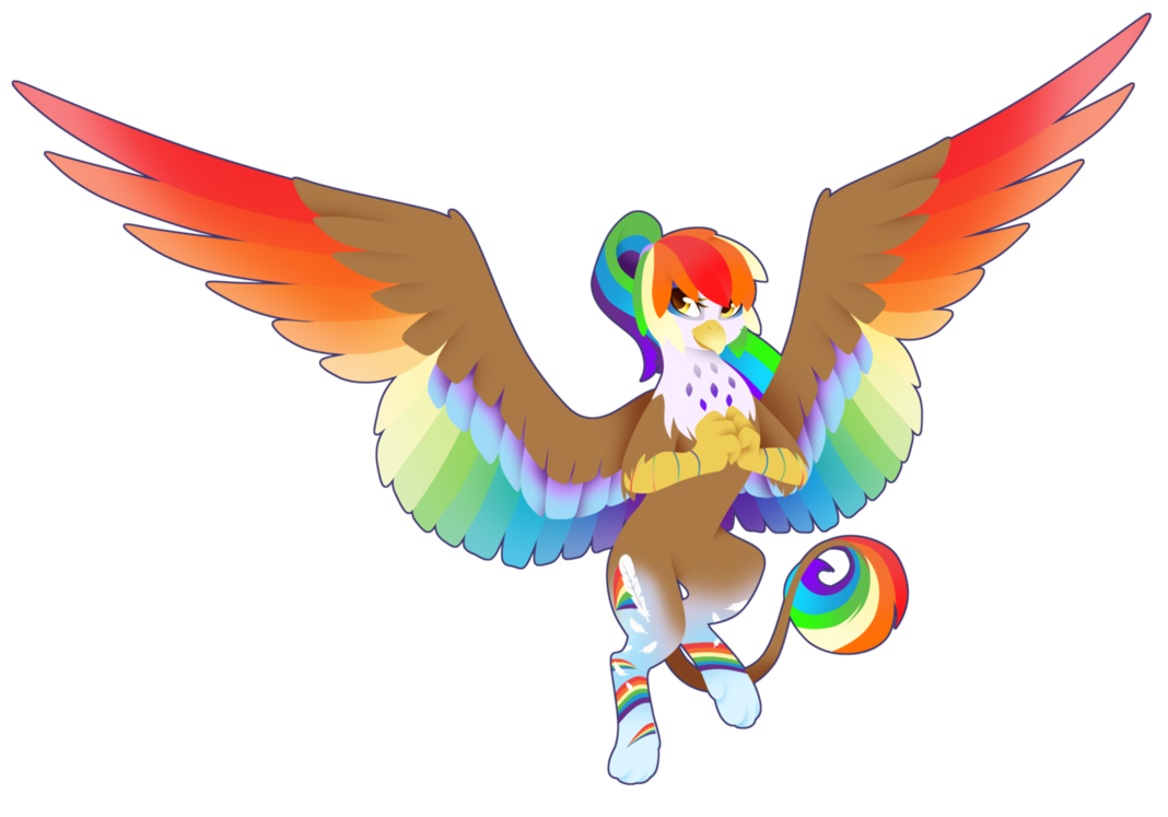 Clipart rainbow feather. Power by fuyusfox q