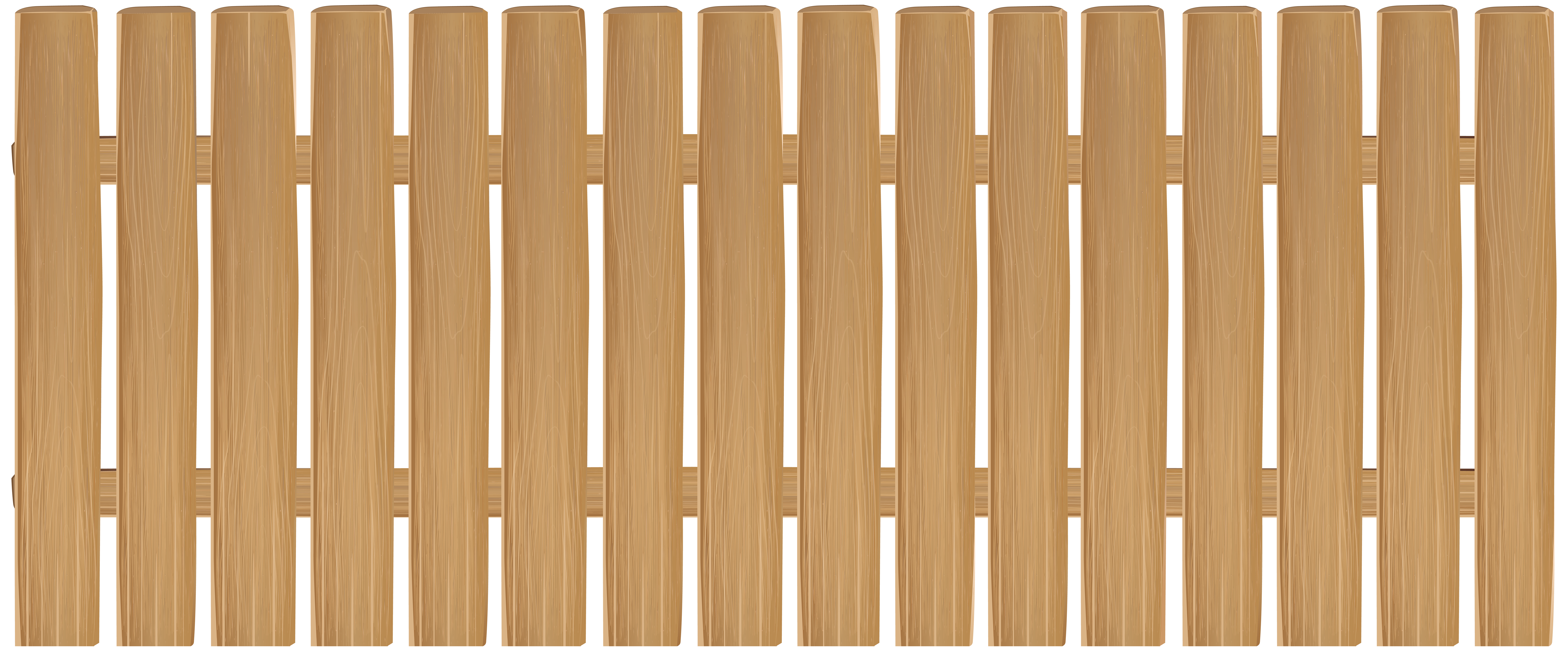 Clipart rainbow fence. Wooden clip art png