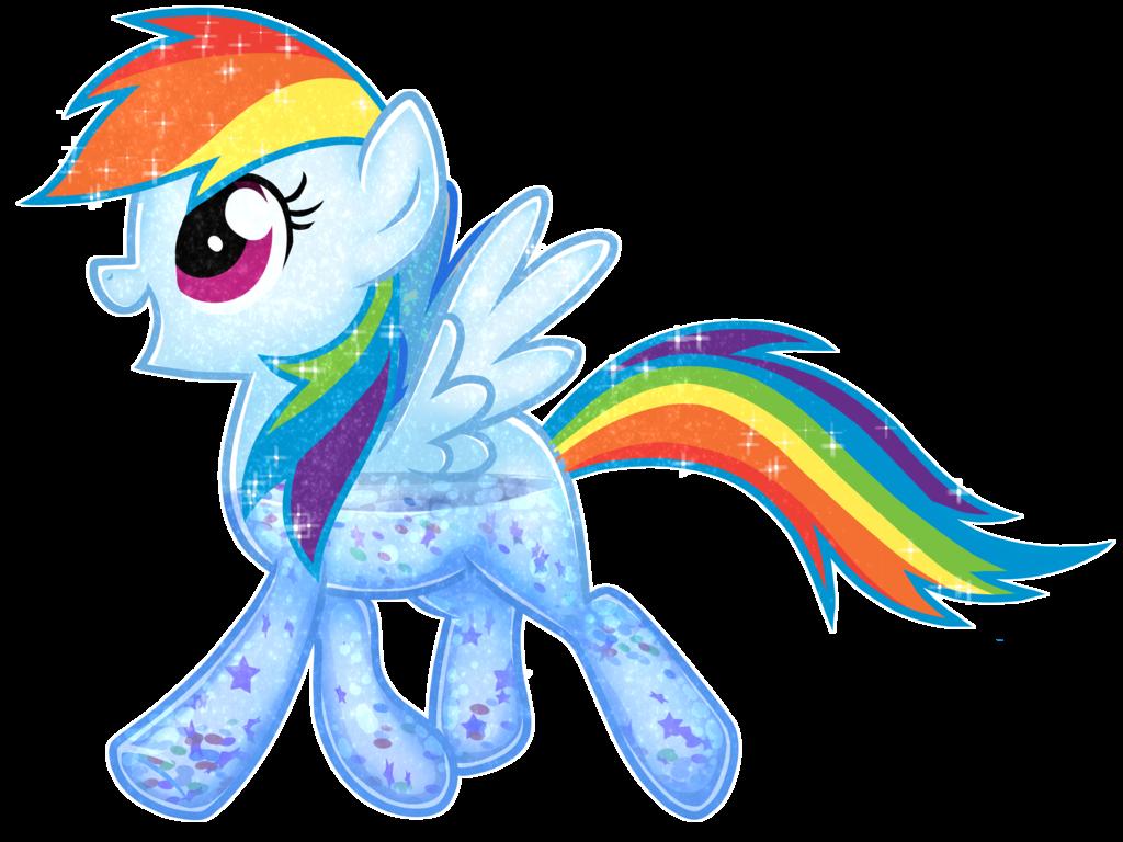 Sparkle water rainbowdash by. Clipart rainbow glitter