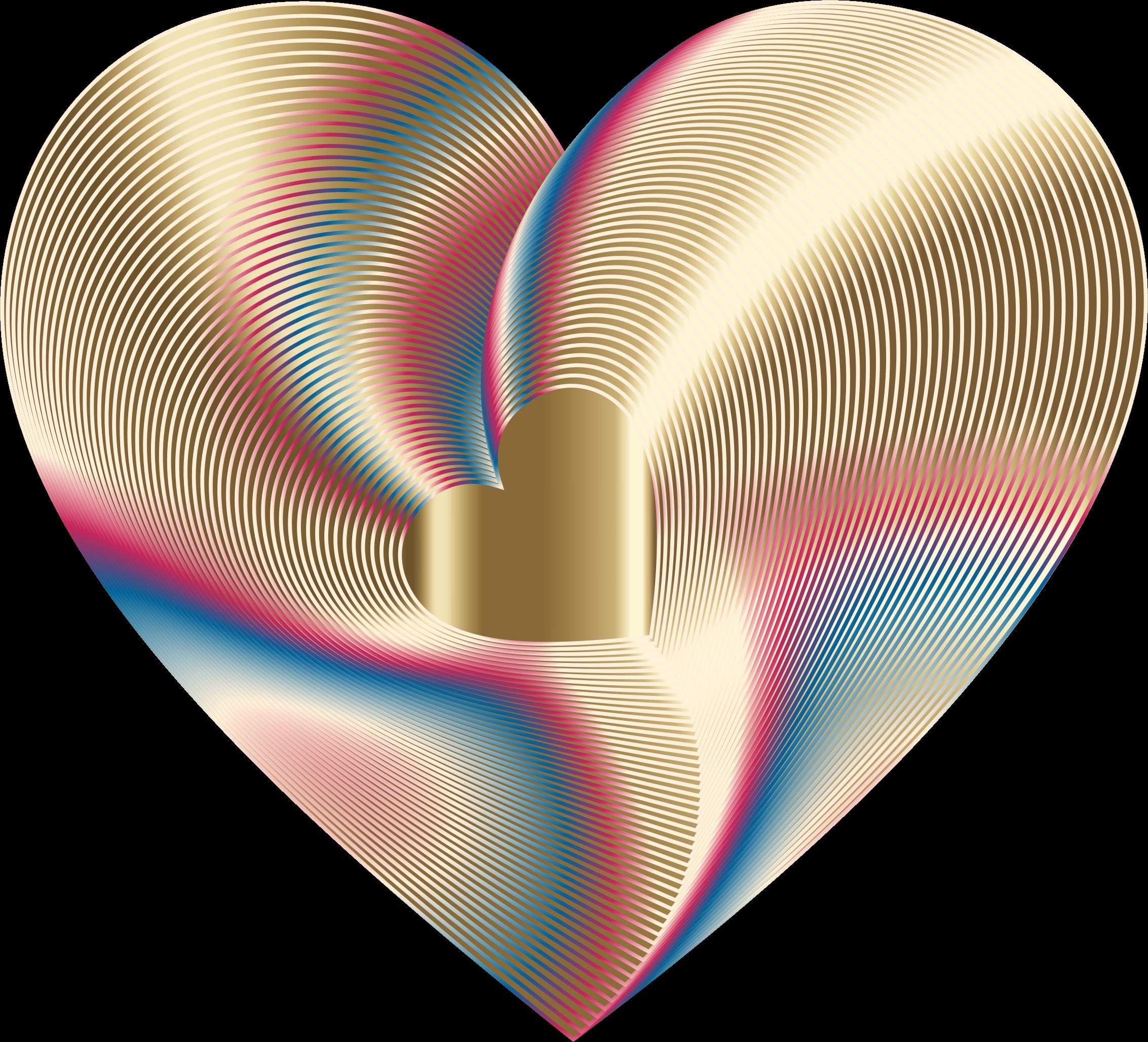 Heartbeat clipart blue. Gold heart hearts pinterest