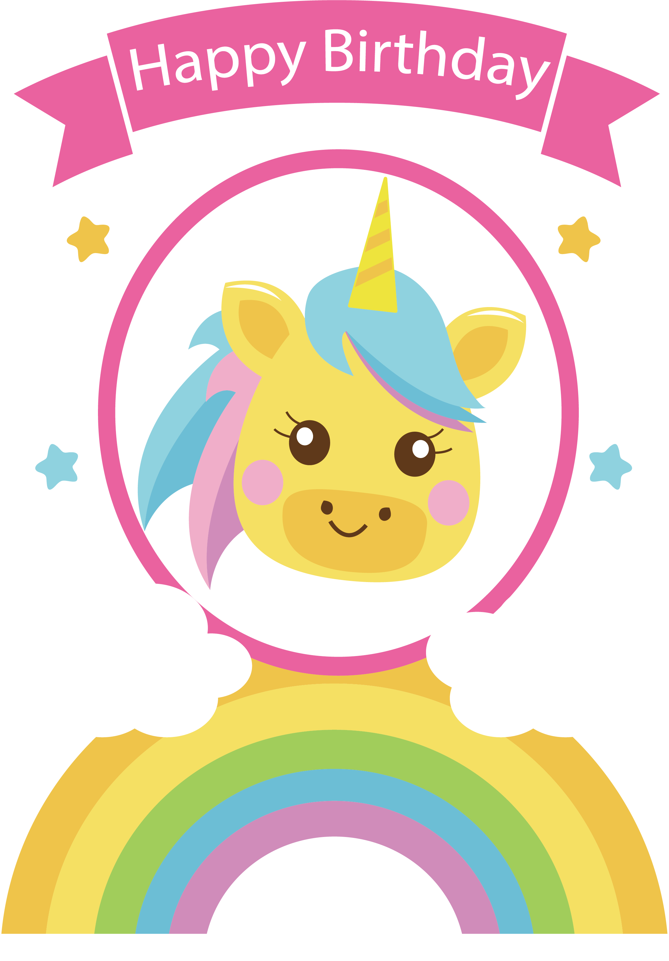 Clipart rainbow happy birthday. To you party clip