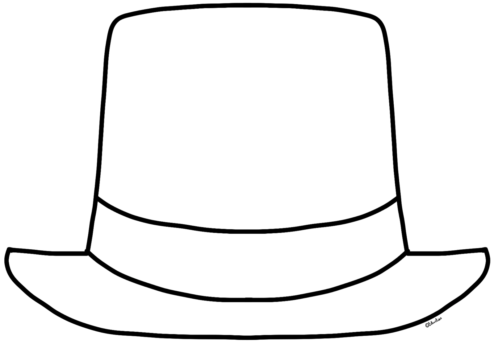 Top and cane free. February clipart hat