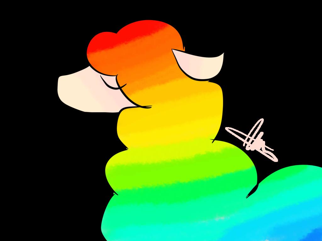 Xd by vale on. Clipart rainbow llama