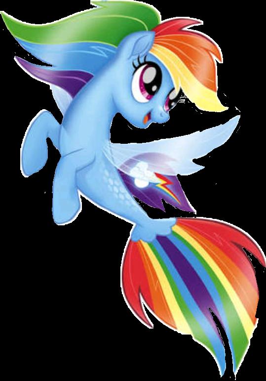 Dash sticker by sude. Clipart rainbow mermaid