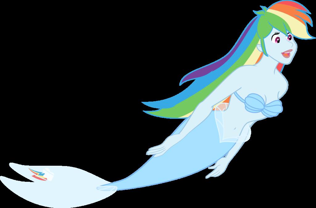 Clipart rainbow mermaid. Dash by kaylathehedgehog deviantart