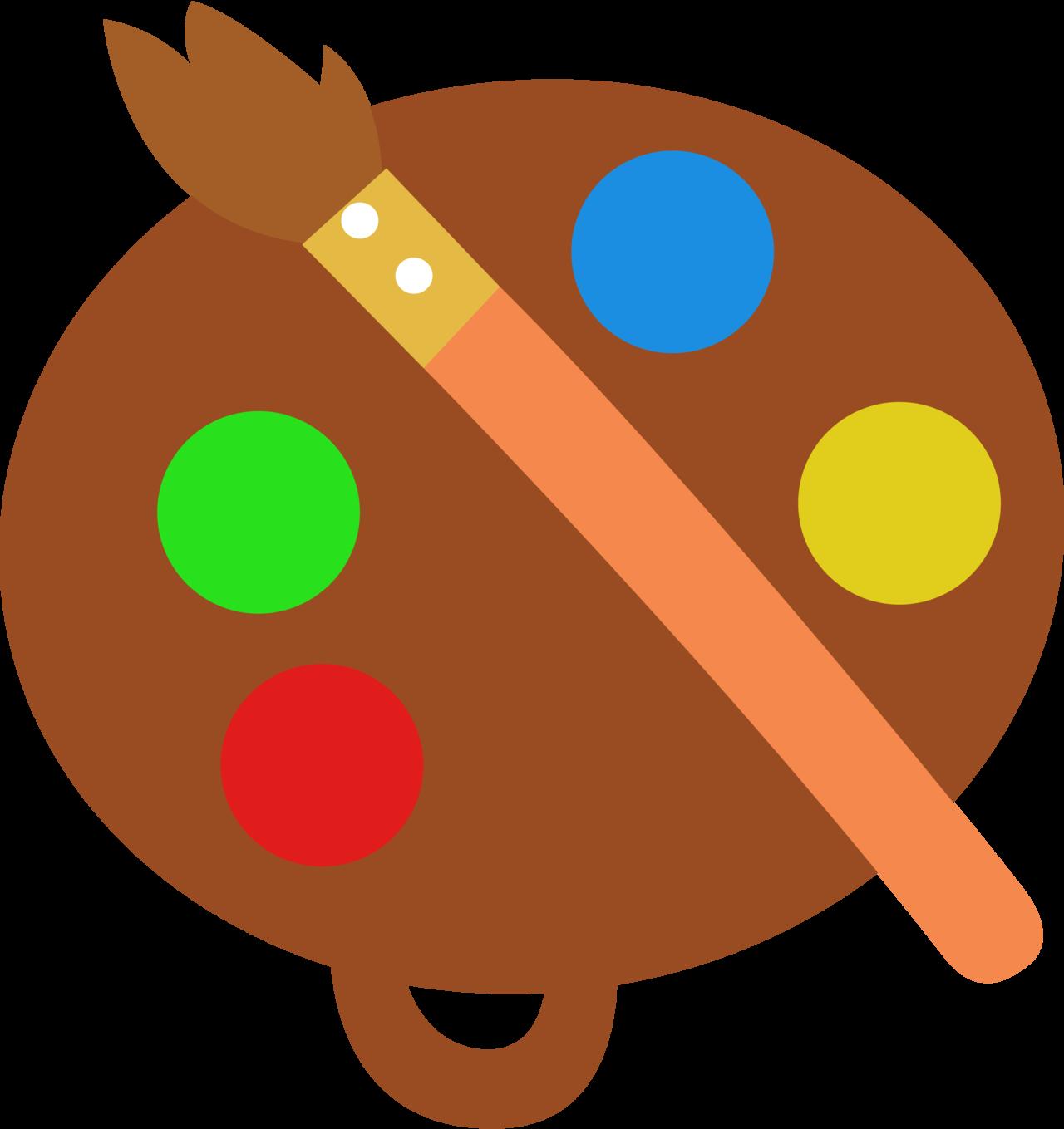Request cutie mark rainbow. Paintbrush clipart stroke