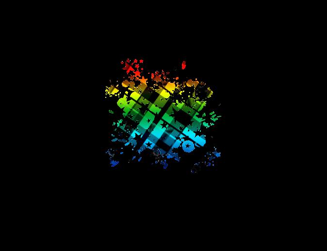 Splat png splatter panda. Clipart rainbow paint