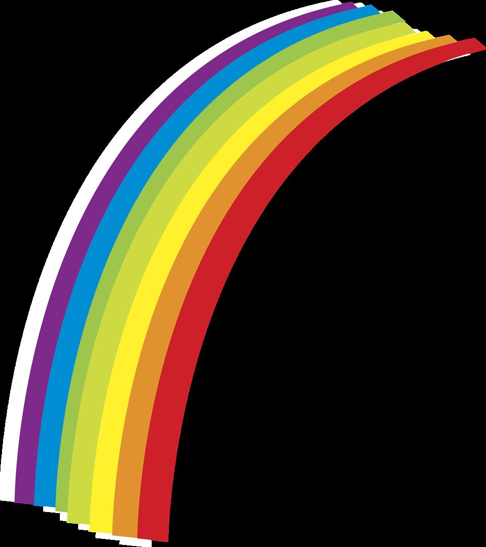Clipart rainbow pencil. Free stock photo illustration