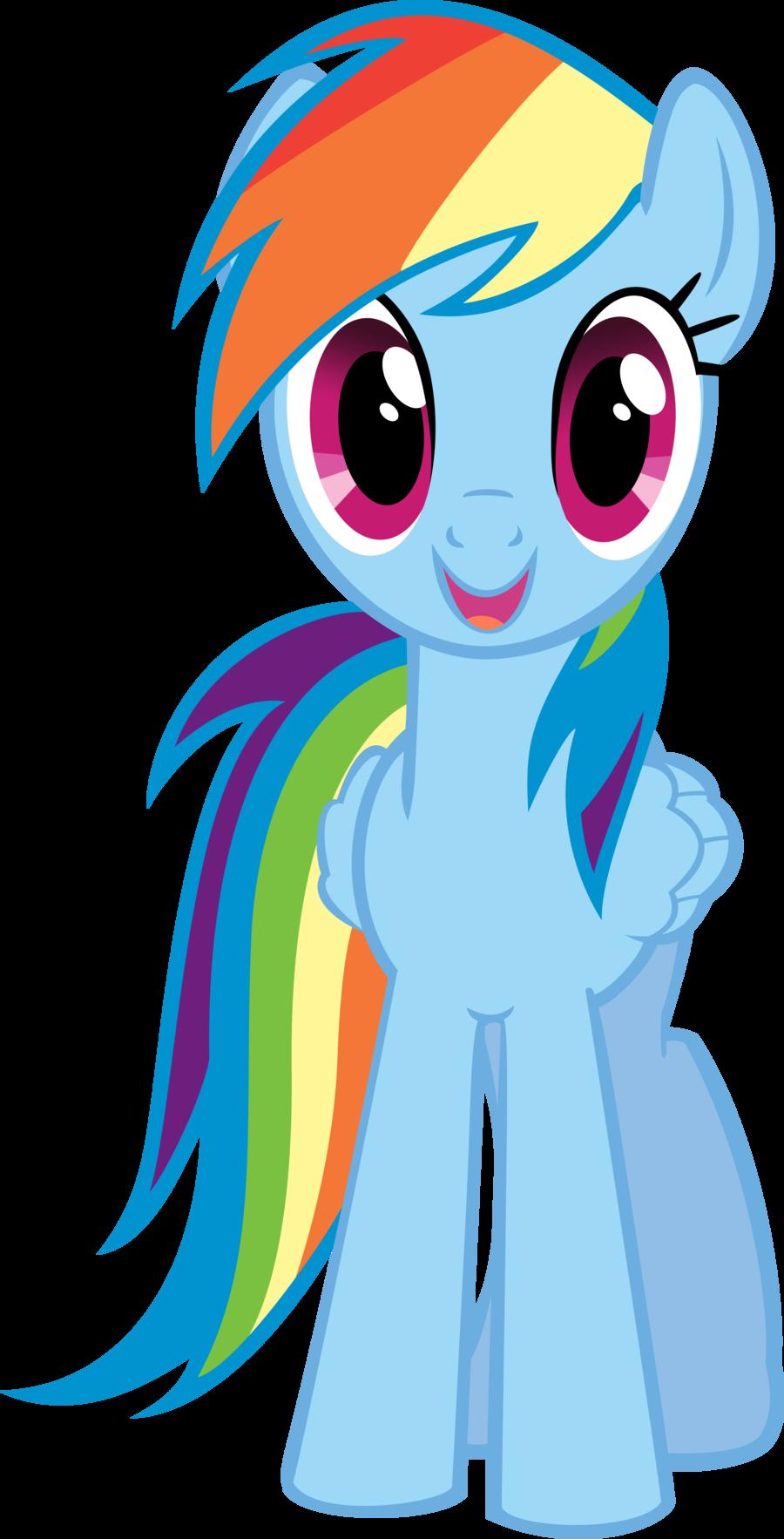 Dash goanimate v wiki. Clipart rainbow pony