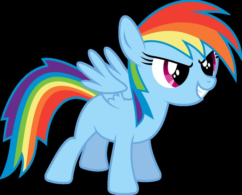 Dash filly my little. Clipart rainbow pony