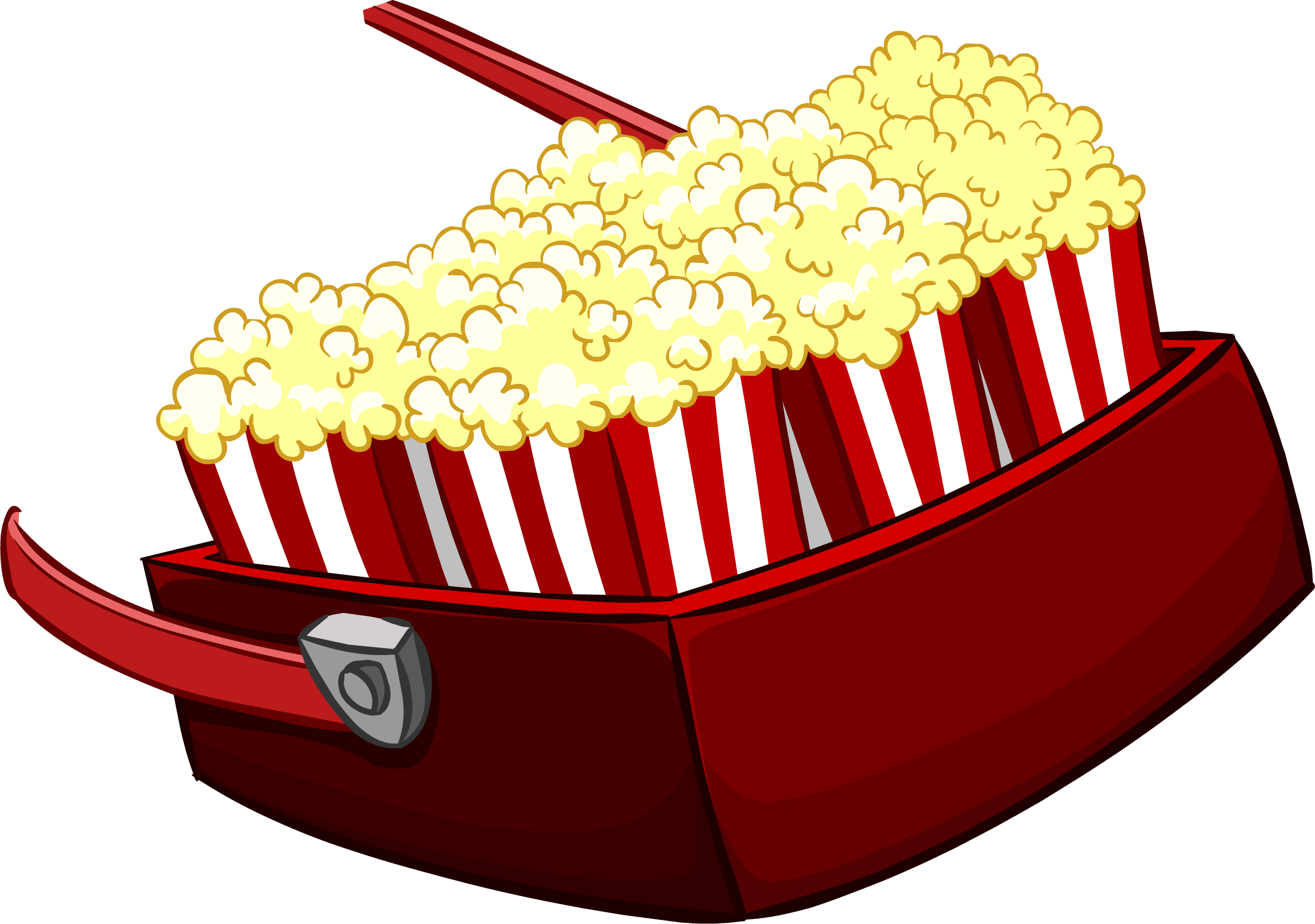 Clipart tv and popcorn. Image tray february png