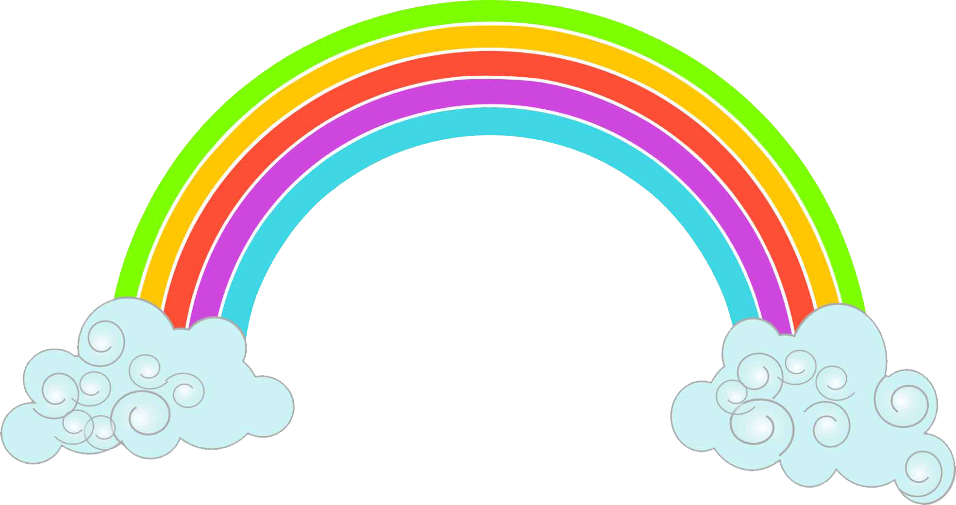 Clipart rainbow preschool. Best kids nursery in
