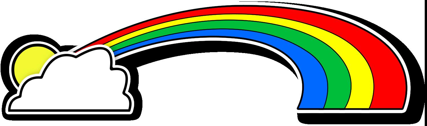 . Clipart rainbow preschool