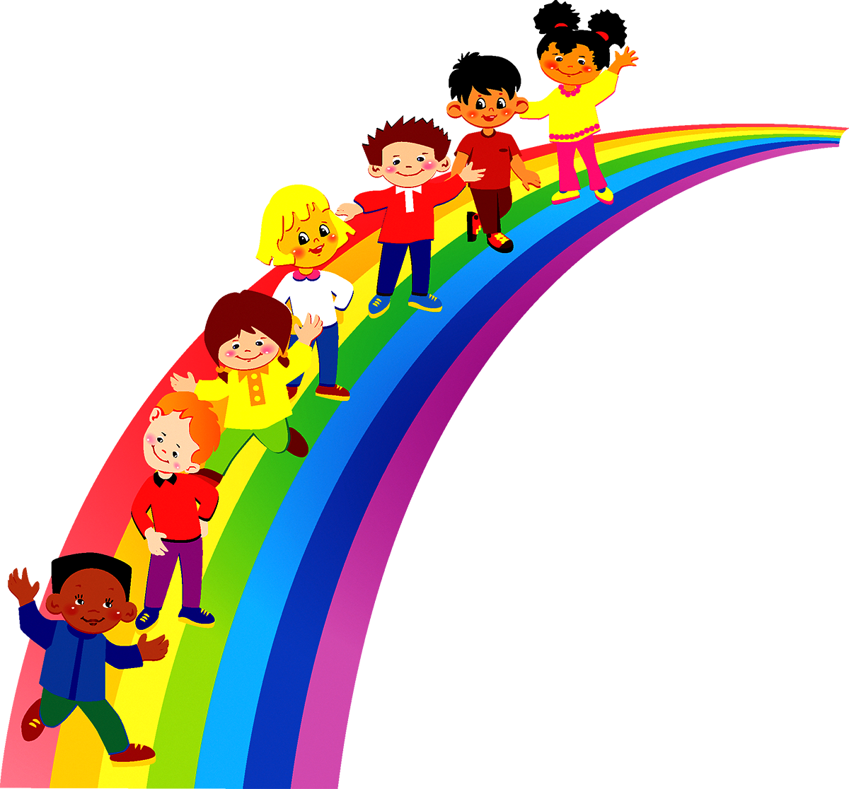 Pre school kindergarten information. Clipart rainbow preschool