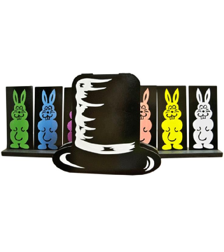 Production by daytona magic. Clipart rainbow rabbit