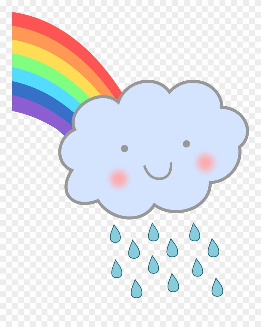Clipartist net clip art. Clipart rainbow rain