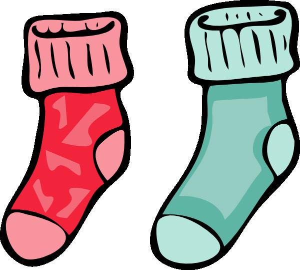 Purple clipart socks. Clip art at clker