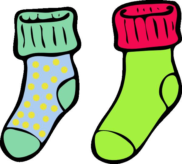 Clip art at clker. Purple clipart socks