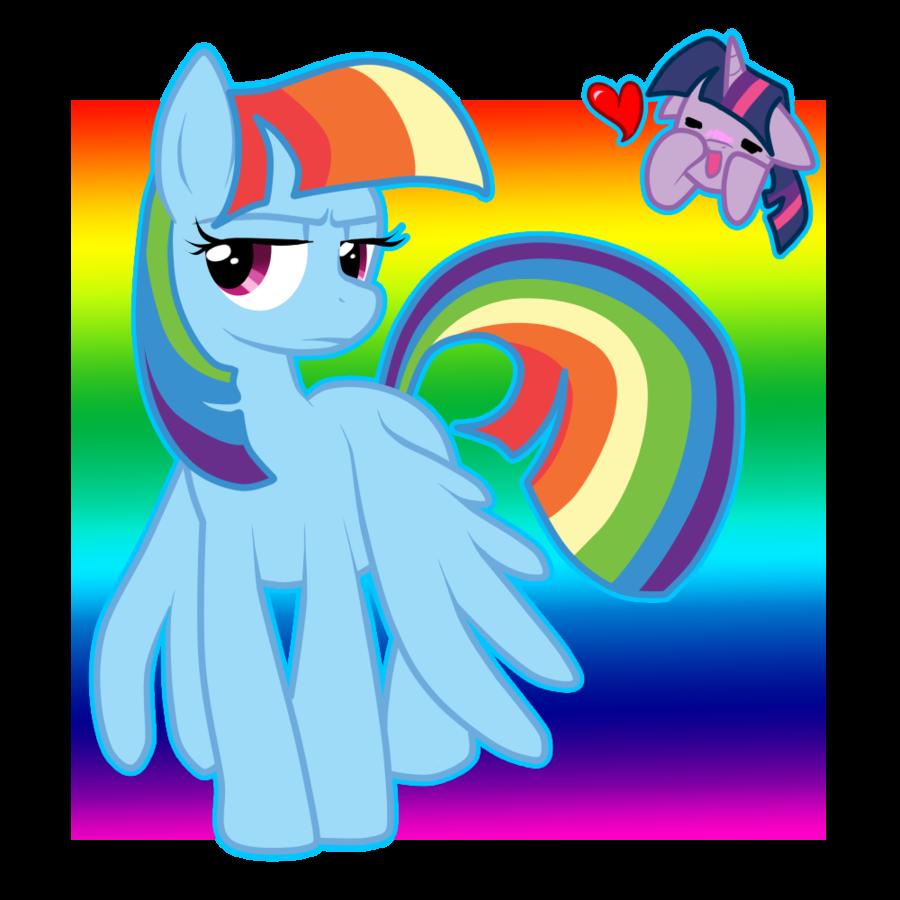 Clipart rainbow sparkle. Or twilight dash by