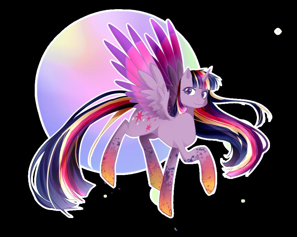 Clipart rainbow sparkle. Power twilight by tsuukiusa