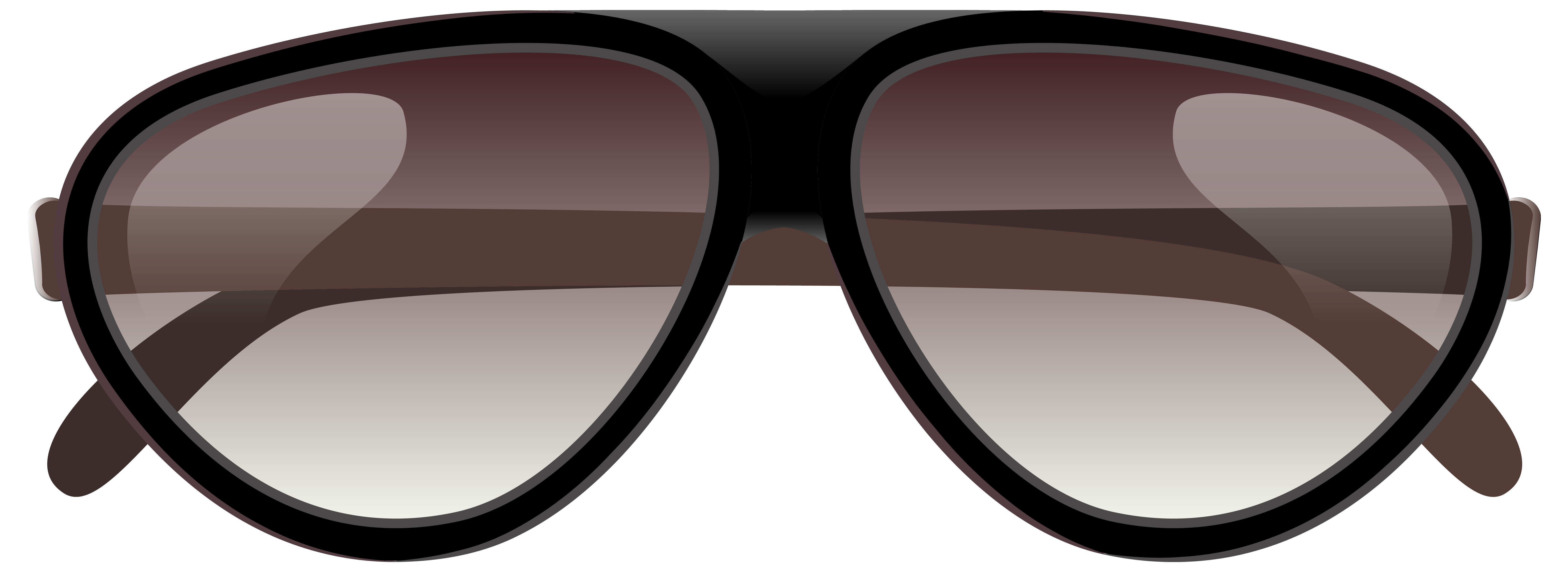 Glasses clipart brown. Large sunglasses png image