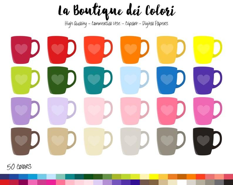 cup clip art. Clipart rainbow tea
