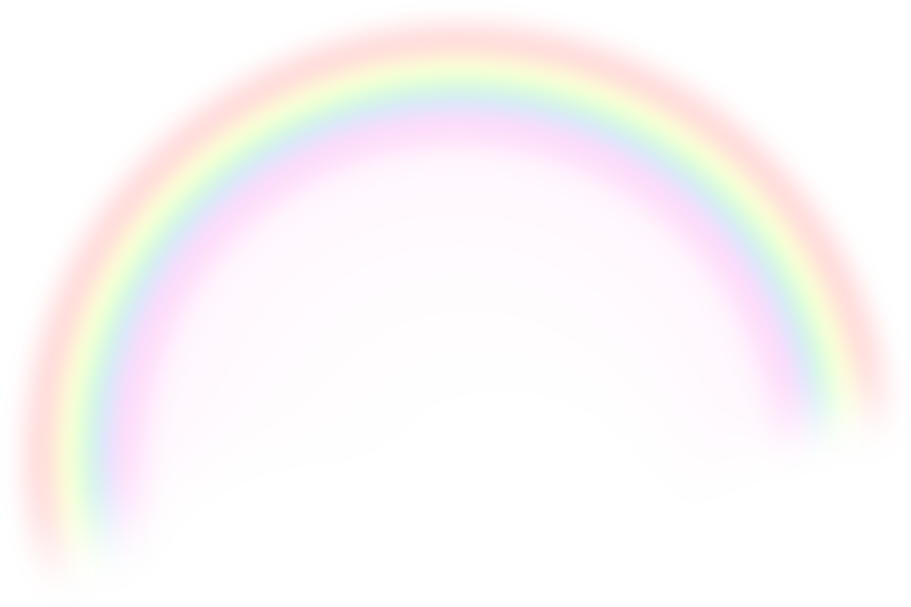 png icons. Clipart rainbow transparent background