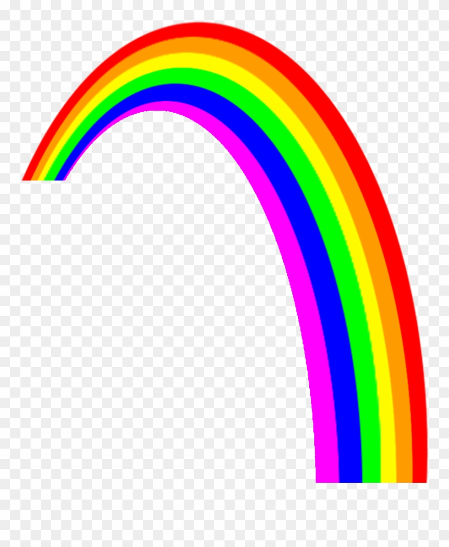 Clip art . Clipart rainbow transparent background