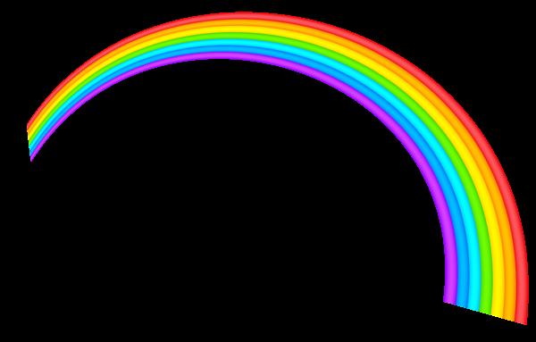 Clipart rainbow transparent background. Picture drain